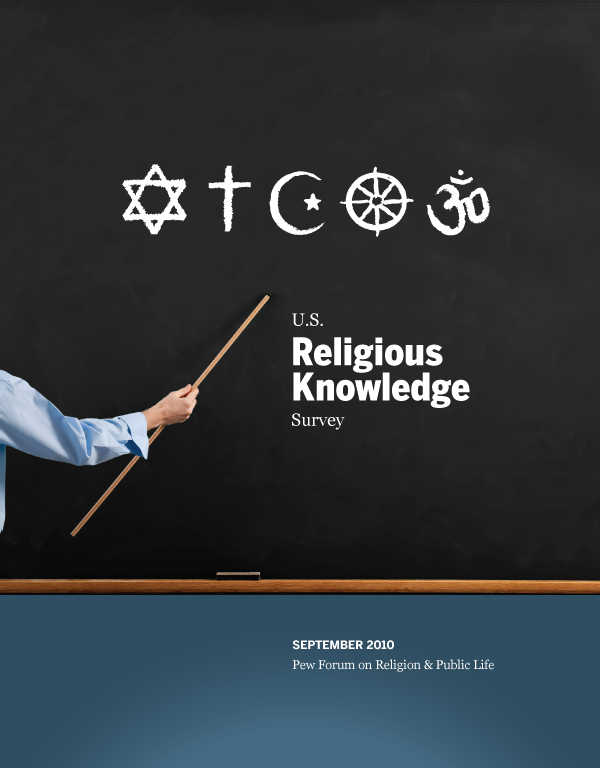 Religious Knowledge Report Cover