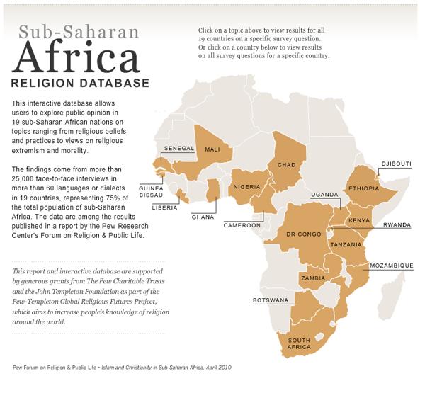 Sub-Saharan Africa Interactive