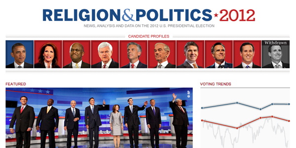 Religion & Politics 2012 Site Thumbnail
