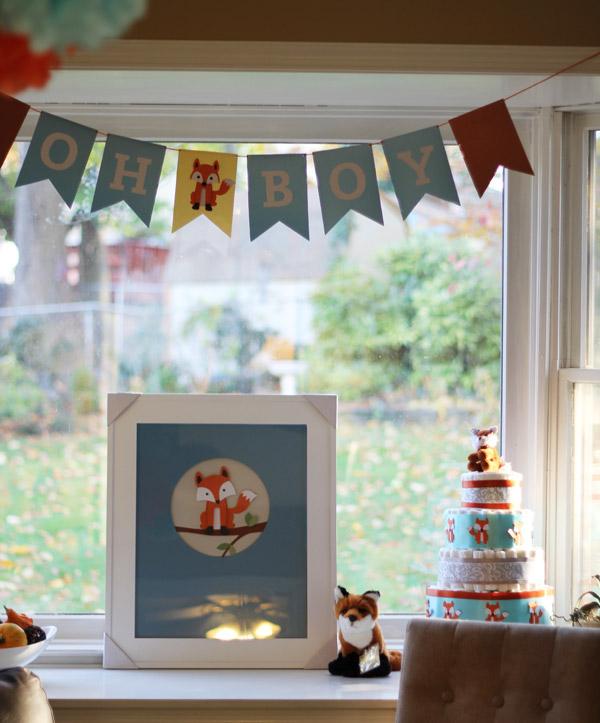 Fox Themed Baby Shower Event Design Diana Yoo